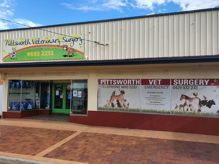 Pittsworth veterinary surgery frontage
